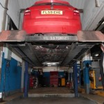 MOT garage in Mobberley