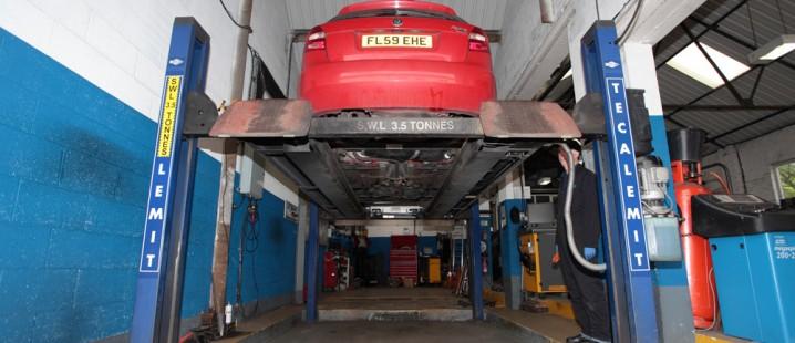 MOT Garage in Bosley